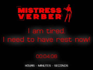 [23-07-20] mistressverber record private sex show from Chaturbate